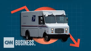 USPS has been losing money for years. Here's why