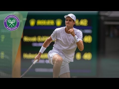 Best Shots from Week 1 of Wimbledon 2019