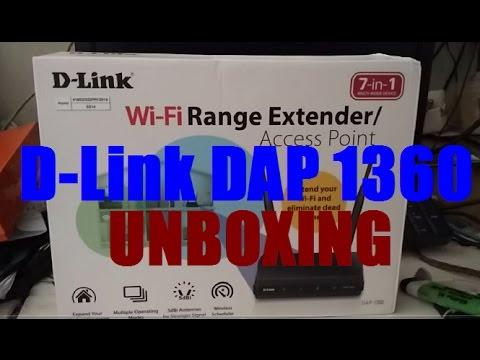 D-LINK DAP 1360 Extender Range AP