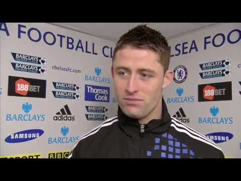 Chelsea vs Manchester United 3-3 - Gary Cahill (05-02-12)
