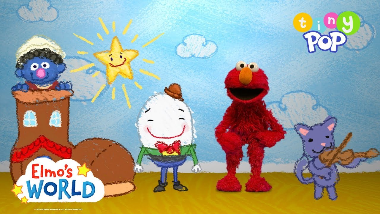 Elmo's World | Nursery Rhymes | Tiny Pop 🐑