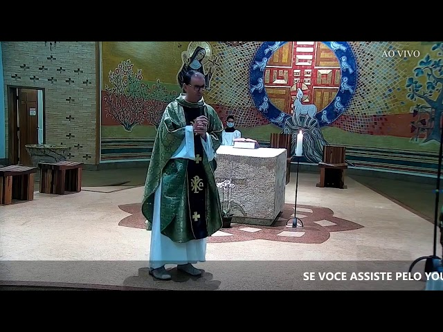 Santa Missa 17° Domingo do Tempo Comum - 24/07/2021