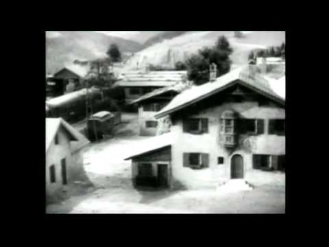 The Lady Vanishes (1938) - the model shot at the start