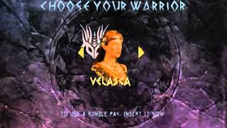 Xena Warrior Princess The Talisman of Fate Character Select N64