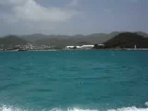 Ferry from St. Martin to Anguilla May 2007