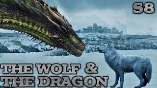 Ghost Meets The Dragons! | Direwolf and Dragon Predictions Game of Thrones Season 8