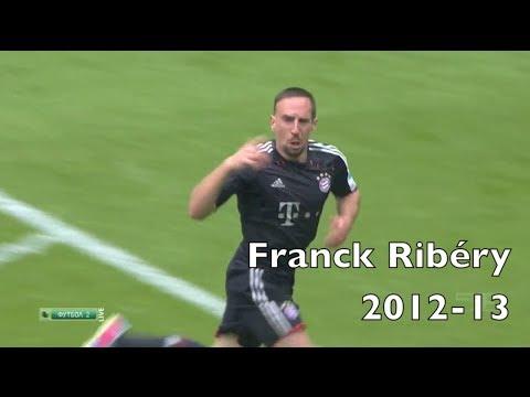 Franck Ribéry Compilation | Bayern München 2012-13