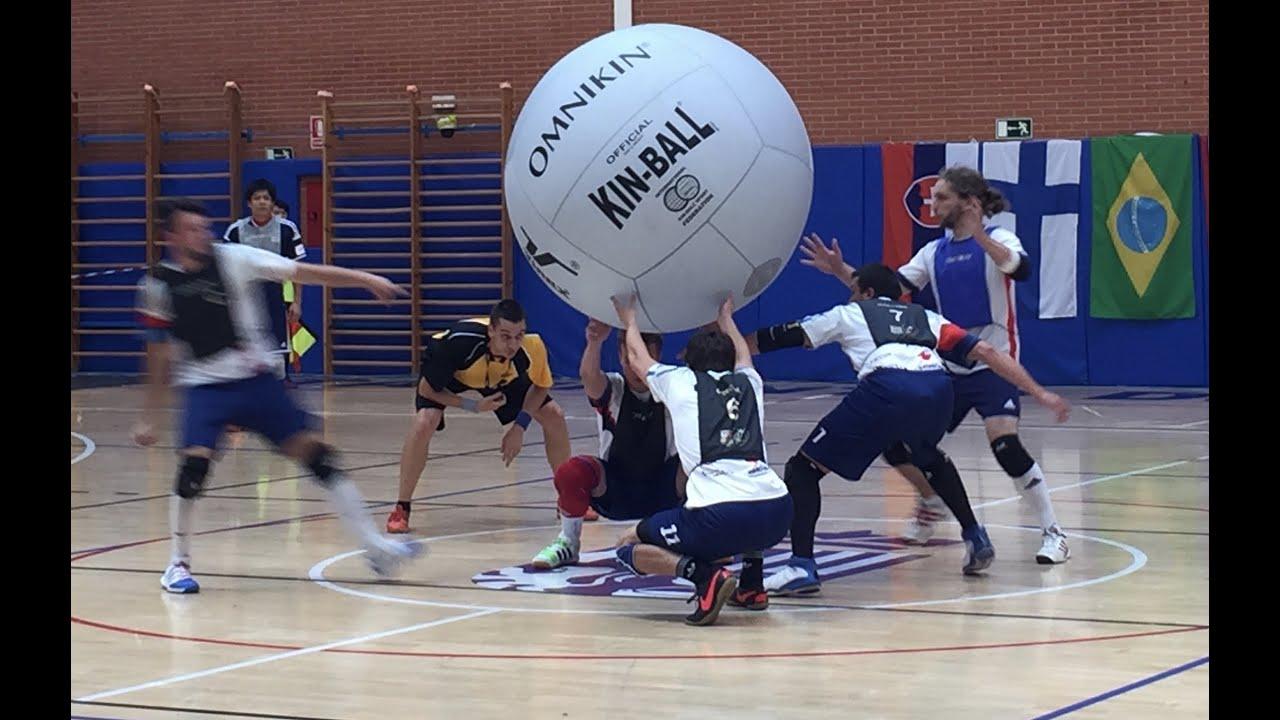 Kin Ball Sport World Cup 2015 Youtube