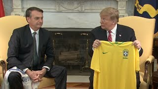 The Heat: Bolsonaro at the White House Pt 1