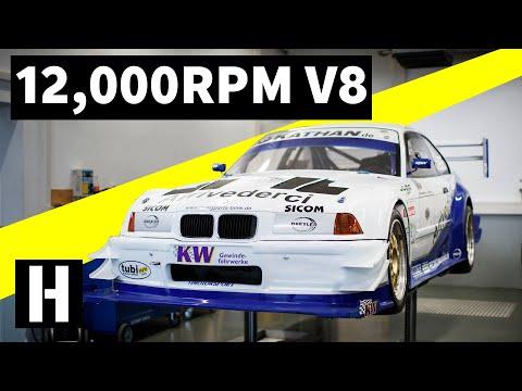 Legendary 12,000RPM V8 Hillclimb Monster!