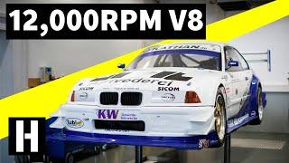 Download Legendary 12,000RPM V8 Hillclimb Monster! Mp3 and Videos