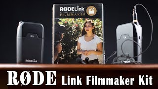 Test RodeLink Filmmaker kit - Micro-cravate HF pour VIDEASTE