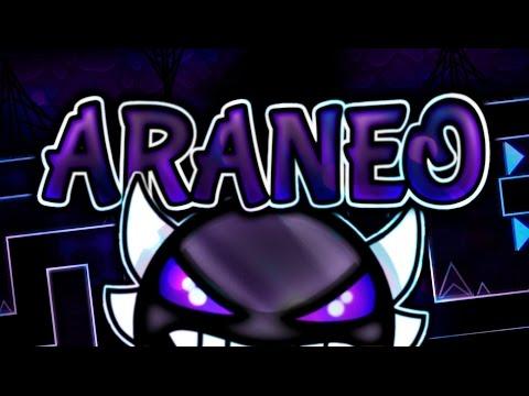 "ARANEO (Epic Insane Demon) by Darwin — ""Geometry Dash"""