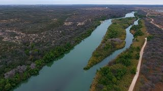 Drone Shows What Unwalled U.s. Mexico Border Looks Like