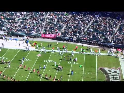 Dallas Cowboys enter Lincoln Financial Field to play The Eagles!!!!