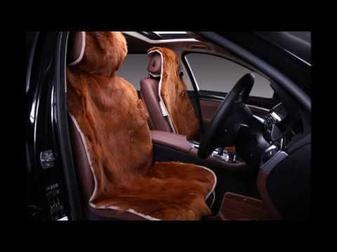 Чехлы меховые на автомобильные сиденья своими руками