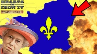 Hearts of Iron 4 HOI4 Weak Britain Tries To Defeat The French Empire