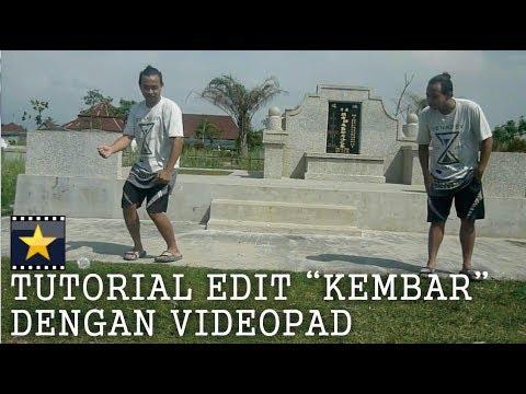 TUTORIAL EDIT VIDEO KEMBAR DI 1 FRAME  DENGAN VIDEOPAD [ TUTORIABI ]