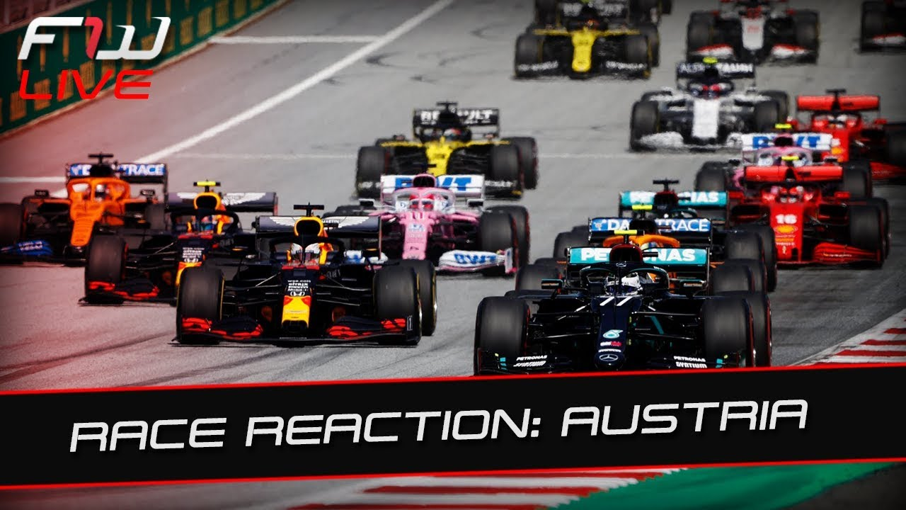 Austrian Grand Prix: Race Reaction Live