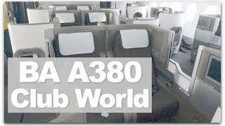 british airways a380 business class   review of ba s club world