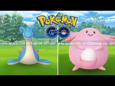 CAPTURAS ÉPICAS DE KANTO! LAPRAS, CHANSEY Y MUCHO MÁS! [Pokémon GO-davidpetit] thumbnail