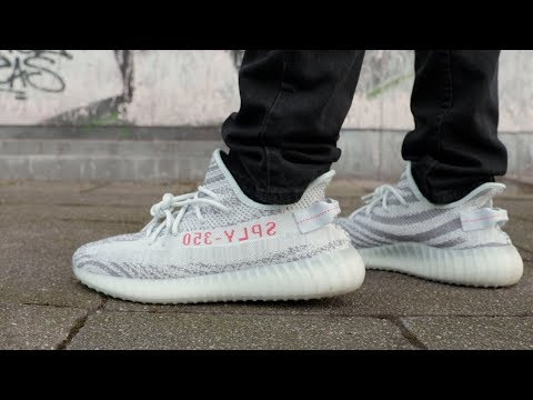 Download Youtube: ADIDAS YEEZY BOOST 350 V2 BLUE TINT REVIEW & ON FOOT