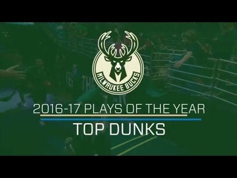 Milwaukee Bucks Top Five Dunks of Year