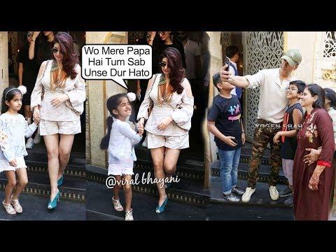 Akshay Kumar's Daughter Nitara's JEAL0U$ Reaction As Papa Akshay Click Selfies With Other Kids Mp3
