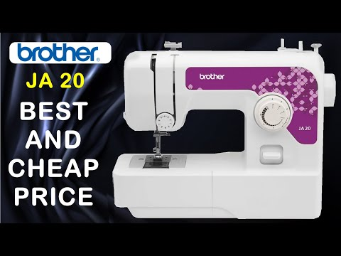 JA20   How To, Thread, Brother, Electric, Domestic, Sewing, Machine, Instruction, Demo, video,