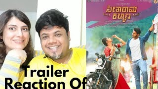 Seetharama Kalyana Trailer Reaction| #NikhilKumar |Foreigner Reaction|North Indian Reaction|