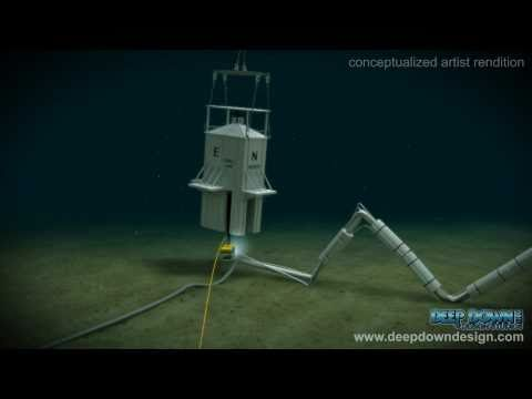 Deepwater Horizon Gulf Oil Spill Recovery Effort - Containment Box Animation www.deepdowndesign.com