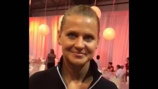 Lucie Safarova Q&A at WTA All-Access Hour   Rogers Cup
