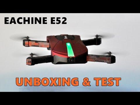 Eachine E52 - Unboxing & TEST [FR]
