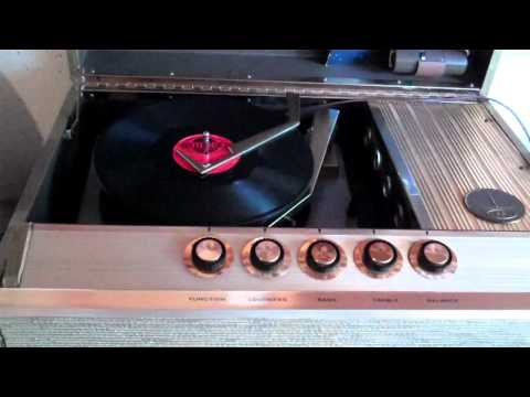 Enjoy some Do Wop and 50's Selections on my 1959 Motorola Thre Channel Stereo