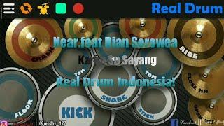 Download Karna Su Sayang - Near.feat Dian Sorowea Real Drum Indonesia!