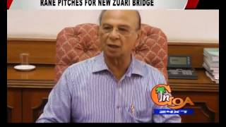 Rane Pitches For New Zuari Bridge