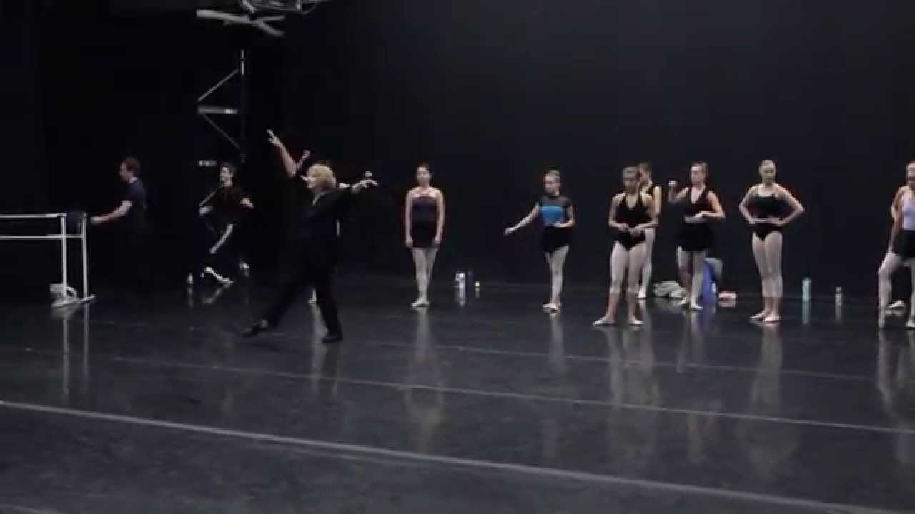 Maine State Ballet: Morning ballet class - YouTube