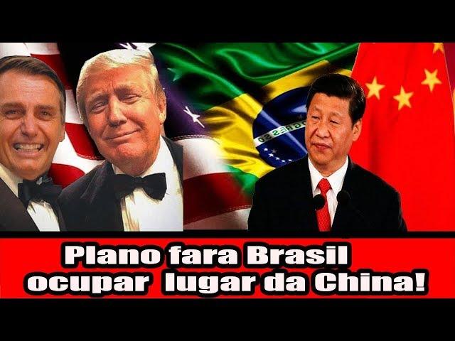 Revelando o Plano que fara o Brasil ocupar lugar da China
