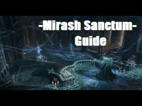 Mirash Sanctum Guide - MechEagle Aion 5.8 - Solo Divine Instance