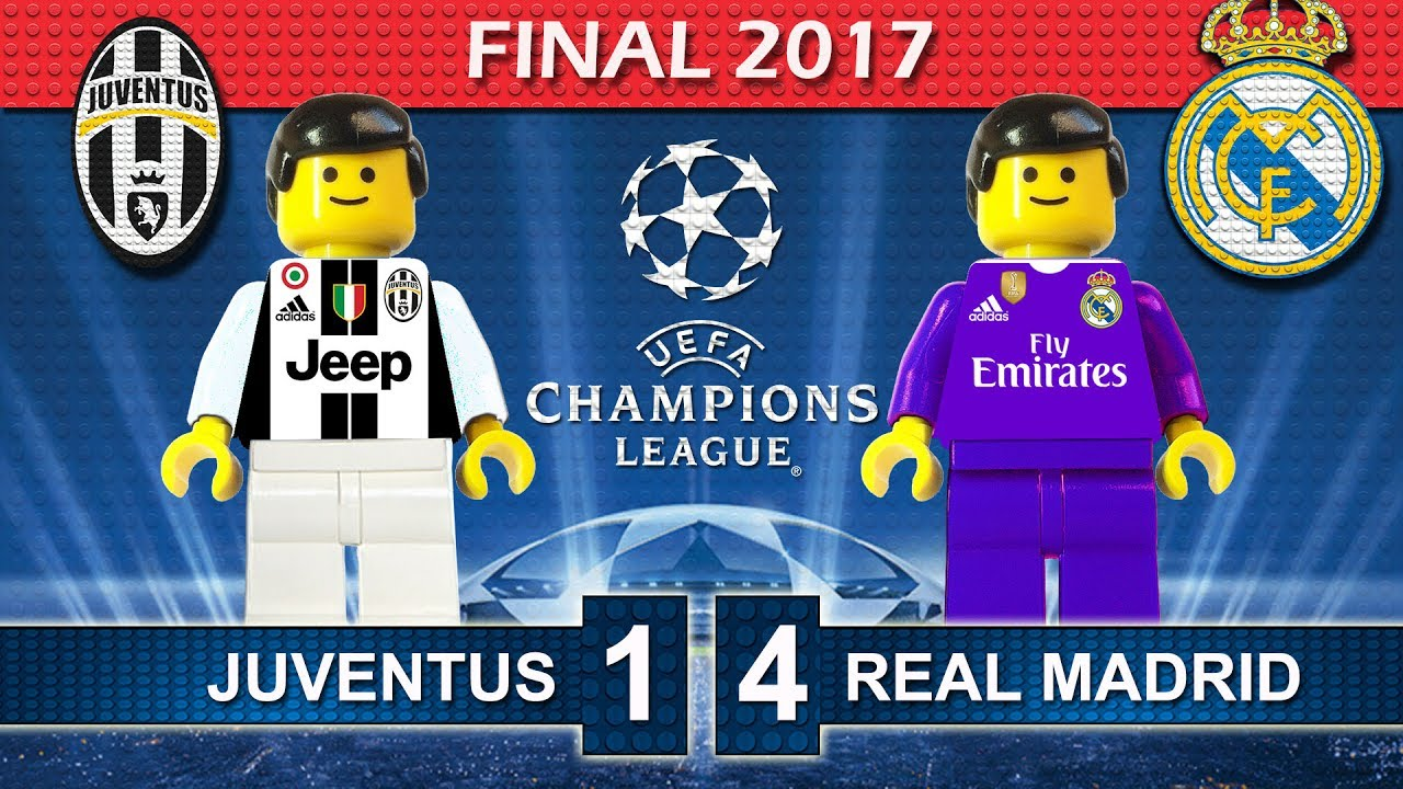 Champions League Final 2017 • Juventus Vs Real Madrid • Goals Highlights Lego Football