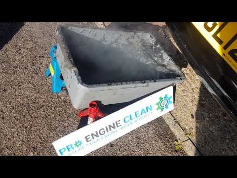 DPF Filter Clean on VW Polo by Pro Engine Clean - mobile DPF cleaning service.