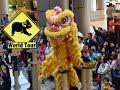 Taiwan | Danse du lion  Hyatt hotel Taipei  | Maryse & Dany