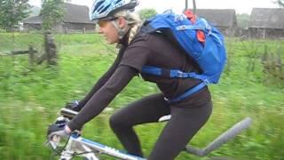 Очень шустрая велосипедистка(Приятно было с ней ехать за компанию. Около 50 км вместе пропилили., 2013-05-26T12:20:35.000Z)