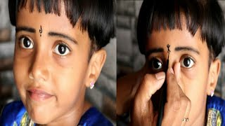 Gambar cover Latest 7 Bindi Designs For Child | Beautiful bindi collections |Fun Bloopers| #MahathiBeautyCorner