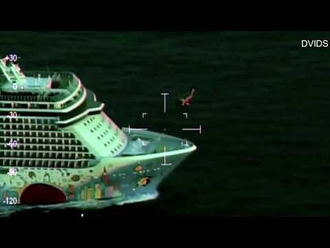 Coast Guard Airlifts Teen Off Cruise Ship Far Offshore