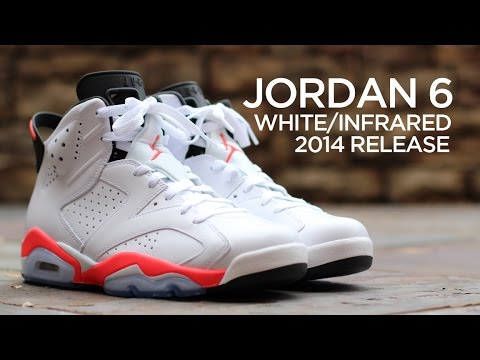 online store 41237 ffd7f Closer Look: Air Jordan 6 Retro - White/Infrared