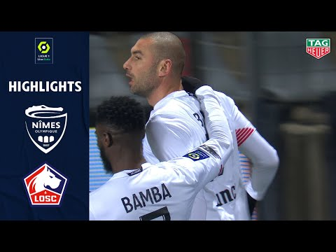 NÎMES OLYMPIQUE - LOSC LILLE (0 - 1) - Highlights - (NO - LO