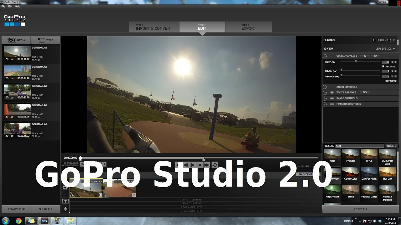 GoPro Studio - Download