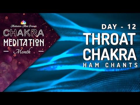 Chakra Seed Mantra Chanting   THROAT CHAKRA 'HAM' Chants   Healing Meditation Music