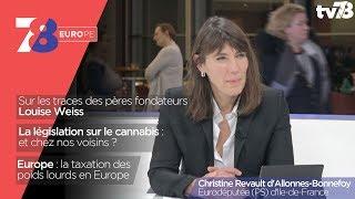 7/8 Europe – émission du 9 mars 2018 avec Christine Revault d'Allonnes-Bonnefoy, eurodéputée PS d'Île-de-France